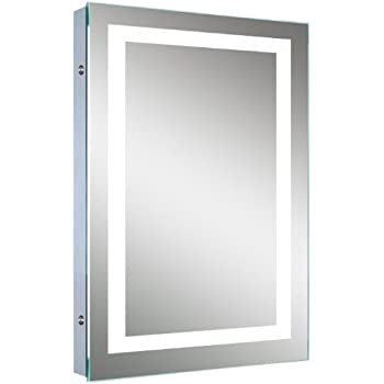 LED Backlit Mirror with Border