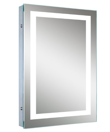 LED Backlit Mirror with Border by Lighted Image