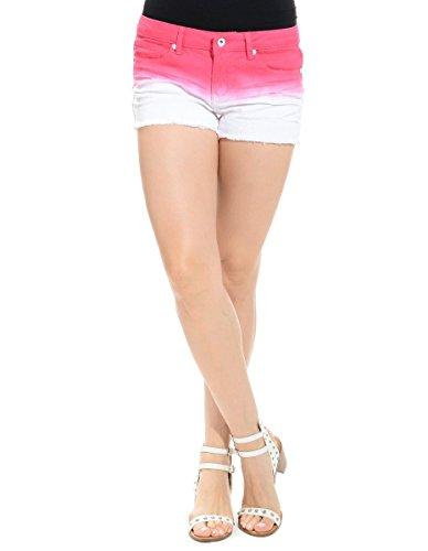 Women's Ombre Daisy Dukes Pink (S) (Daisy Duke Fancy Dress)