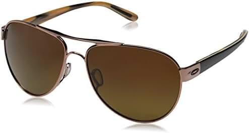 Oakley Women's Disclosure Polarized Aviator Sunglasses