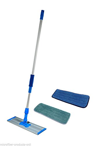 New Wet Mop Floor Cleaner - 18 Inch Microfiber Mop kit