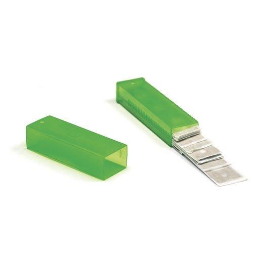 Unger TR15 ErgoTec Glass Scraper Replacement Blades, 6'' Double-Edge, 25 Per Pack