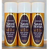 Lamaur Natural Woman Ultra Hold Professional Hair Spray 80% Voc 12 oz (3 pack) (Best All Natural Hairspray)