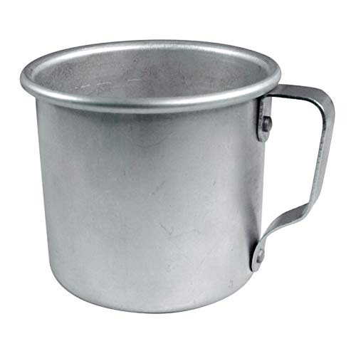 Mian 12 Ounce Aluminum Country Camping Mug Drinking Cup 48 Pieces