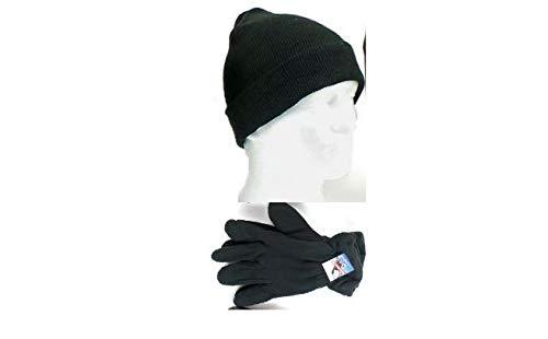 e6d2c7561d Amazon.com  Winter Hat and Glove Set in Color(D. Black) Glove