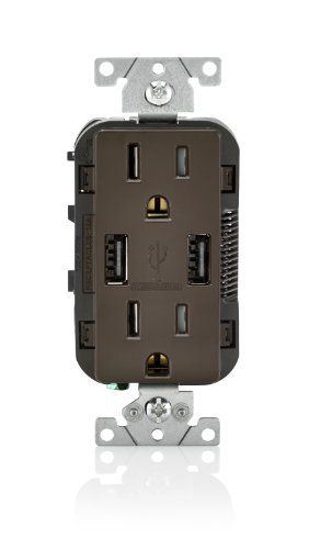 combination duplex receptacle usb charger