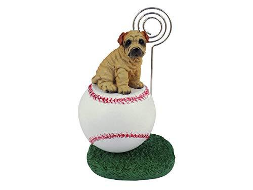 (Conversation Concepts SHAR-PEI Cream Baseball Note Holder)