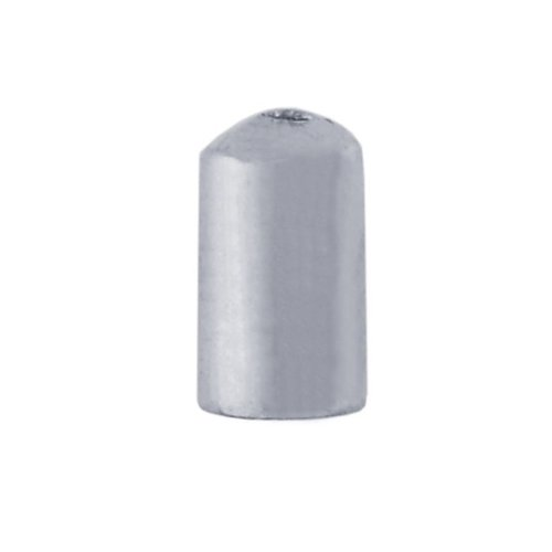 Sterling Silver 9.3mm Cylinder Bead Cone