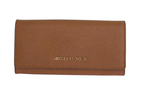 Michael Kors Jet Set Travel Saffiano Leather Carryall Wallet -