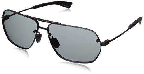 Under Armour Hi Roll 8600084-910100 Aviator Sunglasses, Satin Gunmetal/Satin Black, 64 mm