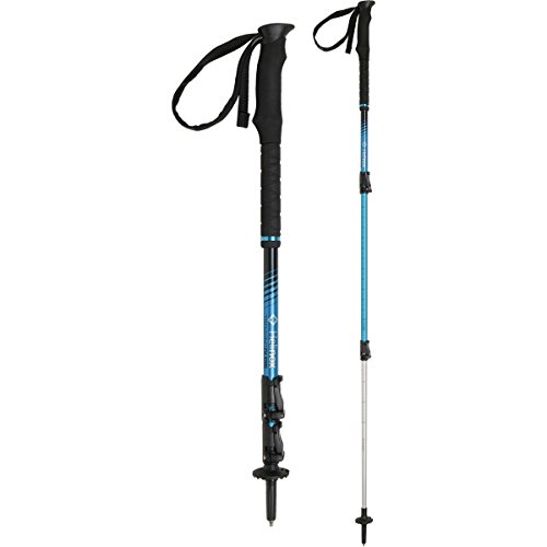 Helinox Ridgeline Lever Lock Trekking Pole - Pair Blue / Silver 135cm