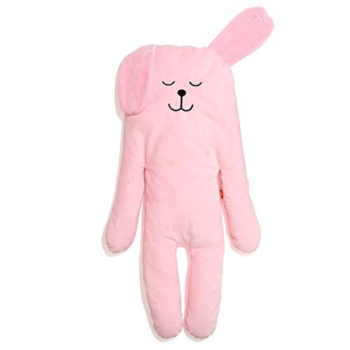 MODERN CUDDLE Cozy Minky Faux Down Stuffed Animal Body Pillow Plush Lovie 32