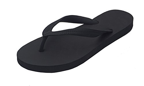 Hipper Women's Soft Comfortable Rubber Flip Flop Thong Sandal (7 B(M) US,...