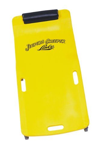 Lisle 93102 Yellow Plastic Creeper
