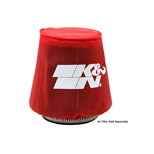 K&N 22-2042PR Red Drycharger Filter Wrap - For Your K&N 59-2042R Filter (Red Air Filter Wrap)