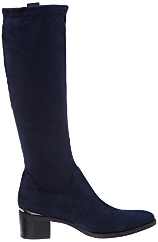 Suede Bleu Jb Stretch H17 Botines bloque Encre t Nuit Mujer Martin W0r0qUw8Z
