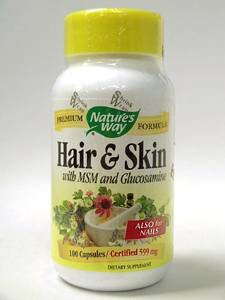 Nature'S Way Hair & Skin 100 Cap -