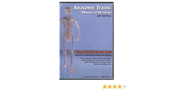 Amazon Anatomy Trains Superficial Front Line Dvd Sports