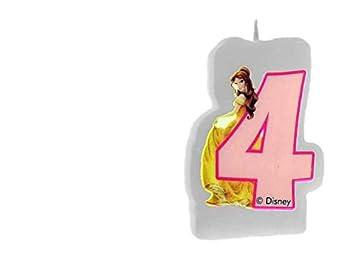 ALMACENESADAN 33540, Vela cumpleaños Disney Princesas nunemo ...
