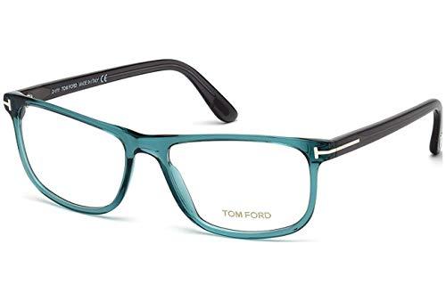 Tom Ford Rx Eyeglasses - FT5356 087 - Shiny Turquoise ()