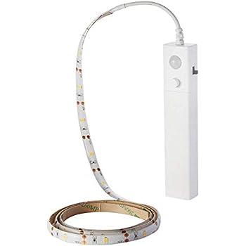Led Strip Rope Light Battery Operated Motion Sensor 3.3ft Night Light Strip Wiresless Colset Bed Light