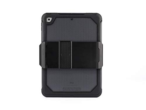 Griffin Survivor Extreme iPad 9.7 (2017) Case with Stand - Impact-Resistant, Black/Smoke