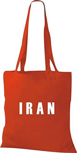 Fútbol Países Yute Classicred Bolsa De Tela Shirtstown Irán Land TFaO6Oqw