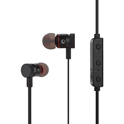bluetooth headsets heqiao magnetic bluetooth earphones hifi sweat proof wireless earbuds. Black Bedroom Furniture Sets. Home Design Ideas