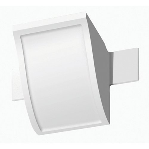 Focal Point 21610 5 7/8-Inch Quick Clips System B Connector Block 4-Inch by 4-Inch by 41/2-Inch, White