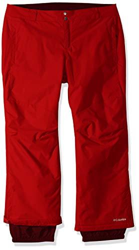 Columbia Women's Plus Size Bugaboo II Pant, Red Mercury, 1X -