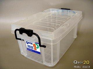 QBOX 20[コンテナボックス] 36ケース 【メーカー直送】北海道・離島不可