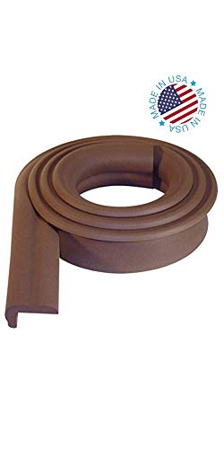 KidKusion Jumbo Edge Cushion Brown product image