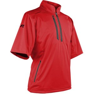 Sun Mountain Rainflex Short Sleeve Golf Pullover 2018 Red XX-Large ()