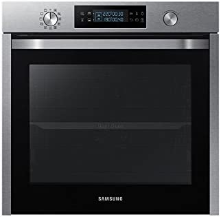Samsung Nv75k5571rs Built In Electric Oven 75l Black Stainless Steel Medium Sized Class A Dial And Touch Screen Amazon Co Uk Large Appliances