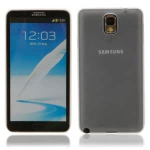 Ultra-thin Plastic Protective Case for Samsung Note3 White