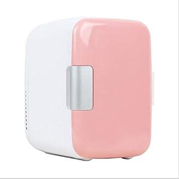 LCTCBX Mini ré frigé rateur frigo é lectrique et chauffe 4 litres / 6 canettes/Canette - Pour la maison, le bureau, la voiture, le dortoir ou le bateau - Compact et portable - Cordons d'alimentation DC