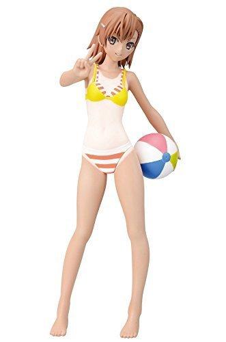 To Aru Kagaku no Railgun S Misaka Mikoto Summer Beach Tanlines PM Figure by - Summer Tanlines