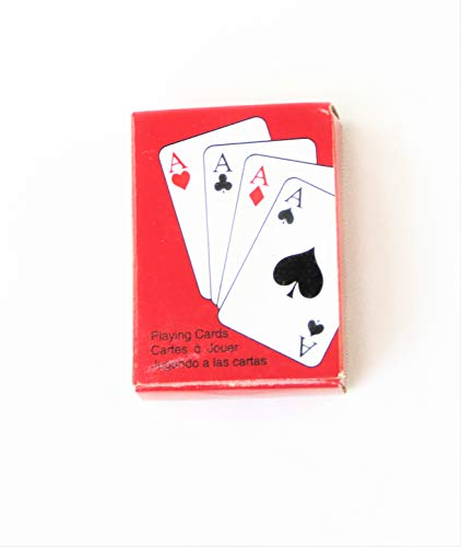 Mini Playing Cards an Accessory for The 18-inch Doll Such as American Girl, Madame Aleaxnder, Etc.