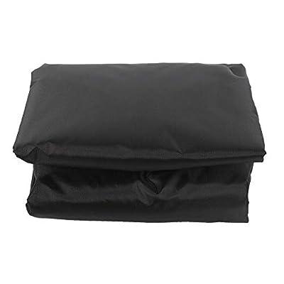 KEYREN Courtyard Waterproof Swing Seat Top Cover Outdoor Rainproof Durable Anti Dust Protector(Black) : Garden & Outdoor