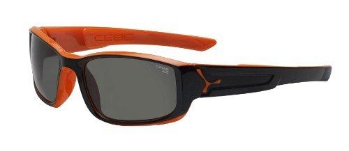 Cebe Eyemax Shield Variochrom Perfo Brown Lens Category 1-3 Sunglasses - Shiny Black by Cb 3GeIYLEj3W
