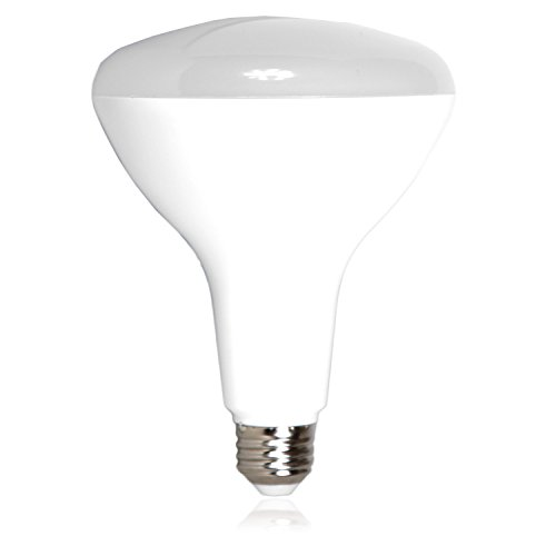 - Maxxima LED BR40 100 Watt Equivalent Dimmable 17 Watt Light Bulb Warm White 1500 Lumens Energy Star, 3000K