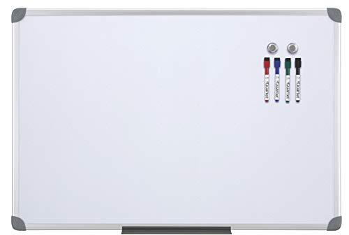 Frame Magnetic Markerboard - Quartet Dry-Erase Board, Whiteboard / White Board, Magnetic, 2' x 3', Euro Style Frame (UKTE2436-ECR)