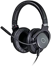 Cooler Master MH-752 Gaming Headset with Virtual 7.1 Surround Sound, Plush Earcups, and Omni-Directional Boom Mic Black