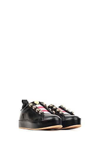 Autunno Fille Nero inverno Springfield Sneakers Fleurs Donna La 19 2018 Des UW44f