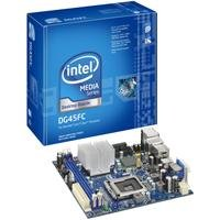 Intel DG45FC Media Series G45 Mini-ITX DDR2 800 Intel Graphics HDMI+DVI 1333MHz FSB LGA775 Desktop Board - - X4500hd Graphics