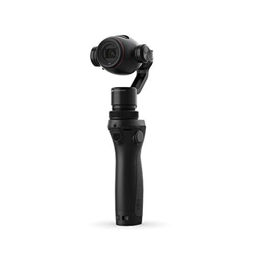 DJI 4K, UHD 3.5x Optical Zoom, 2x Digital Zoom Handheld 4K Camera Osmo+ Black
