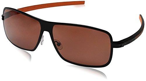 Tag Heuer Square Sunglasses 0988 Senna Racing 204 Polarized Black & Orange