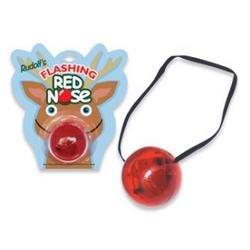Flashing Nose - Rudolf's Holiday FLASHING REINDEER NOSE