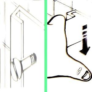 etendoir mural telescopique seche linge serviettes gain. Black Bedroom Furniture Sets. Home Design Ideas