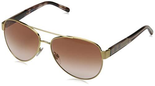 brown De Sol Gafas Burberry Dorado Adulto Unisex n4qYxOwp